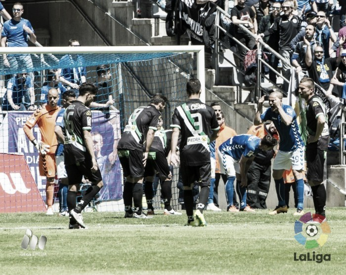 La pizarra de Oltra: el Córdoba puso el juego y el Oviedo marcó el gol