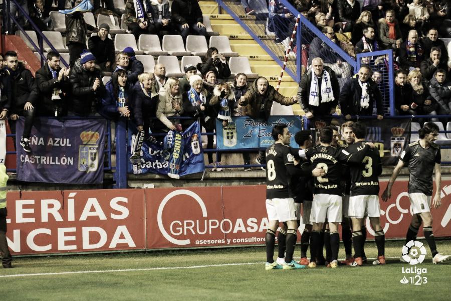 El Oviedo coge confianza en Extremadura