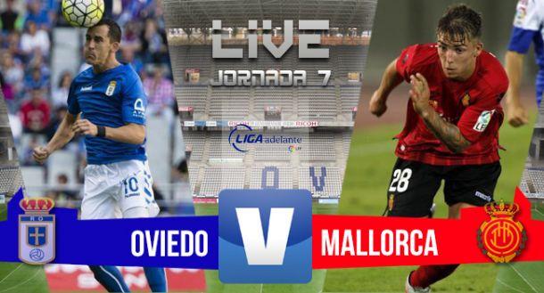 Resultado Real Oviedo - Mallorca en Segunda División 2015 (1-1)