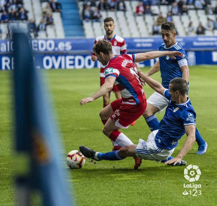 El Granada CF perdona y lo paga en el Tartiere