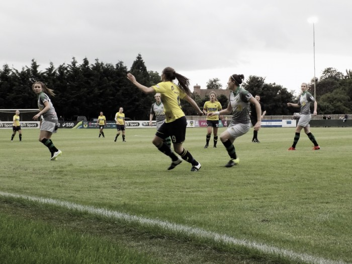 Oxford United Women 2-2 Yeovil Town Ladies: Umotong brace secures point against league leaders