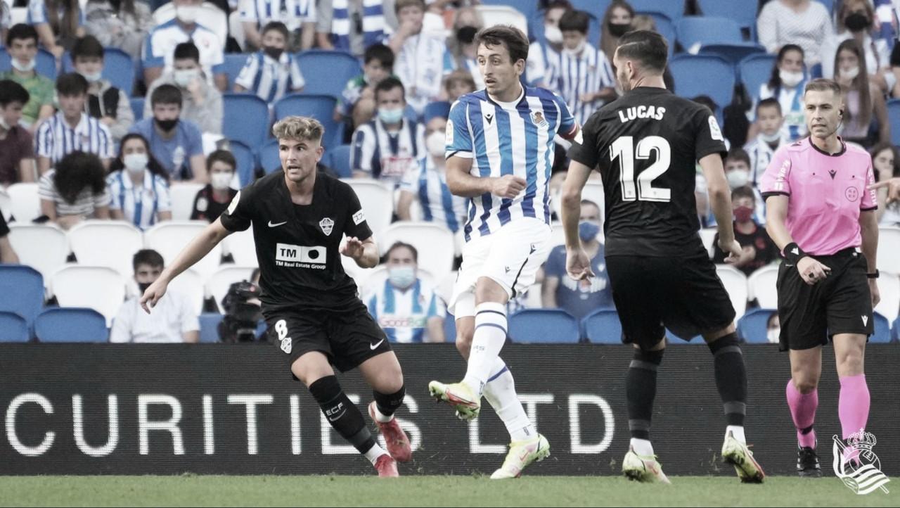 Resumen del Real Sociedad 1-0 Elche CF en LaLiga Santander 2021/22