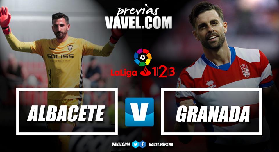 Previa Albacete - Granada CF: camino a la gloria