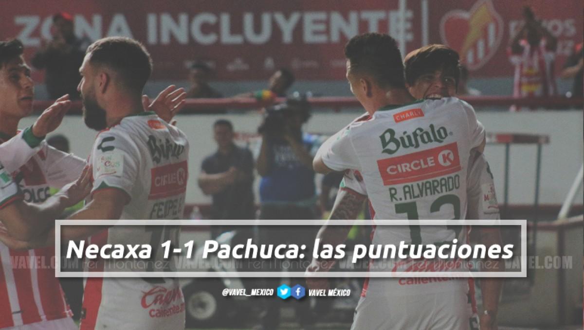 Necaxa 1-1 Pachuca: puntuaciones de Necaxa en la jornada 12 de la Liga MX Clausura 2018