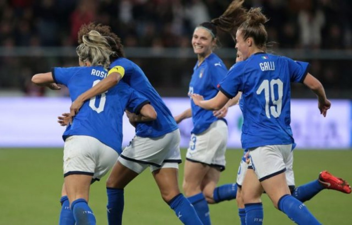 2019 Women's World Cup Qualification (UEFA) – Group 6: Italy come from behind to beat Belgium and cement leadership