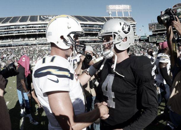 Los Raiders casi dan la sorpresa ante San Diego