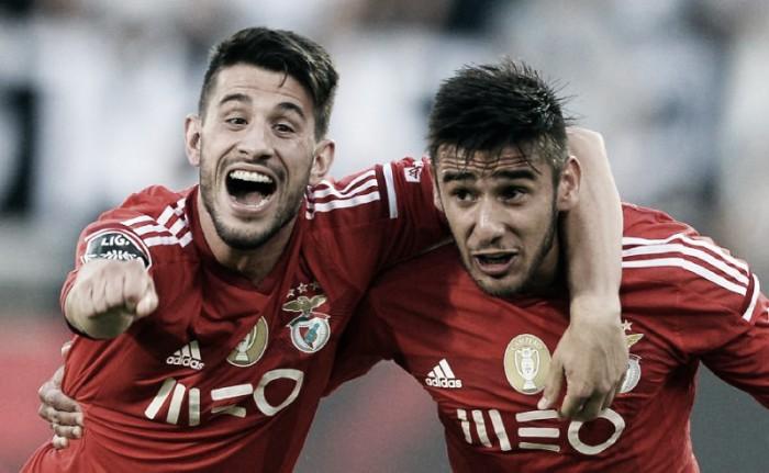 Pizzi e Salvio «falam» por Vitória