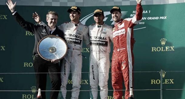 Hamilton e Rosberg trocam elogios