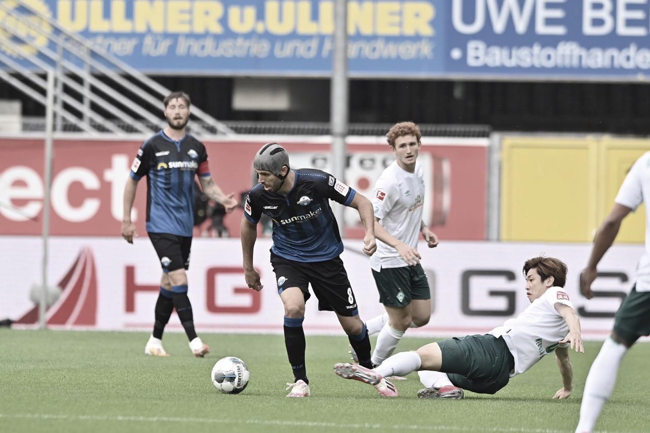Werder Bremen atropela Paderborn e se aproxima da zona de playoff da Bundesliga