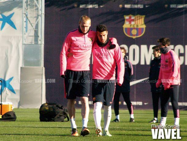Mathieu, con el alta, estará entre los 18 convocados