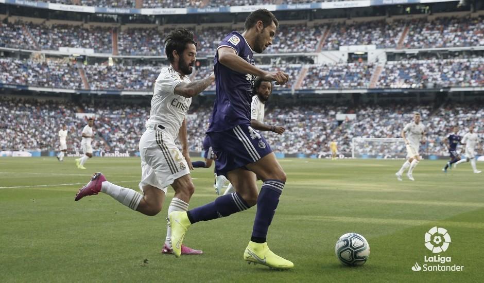 Real Madrid - Real Valladolid, puntuaciones del Real Valladolid de la jornada 2 de LaLiga Santander
