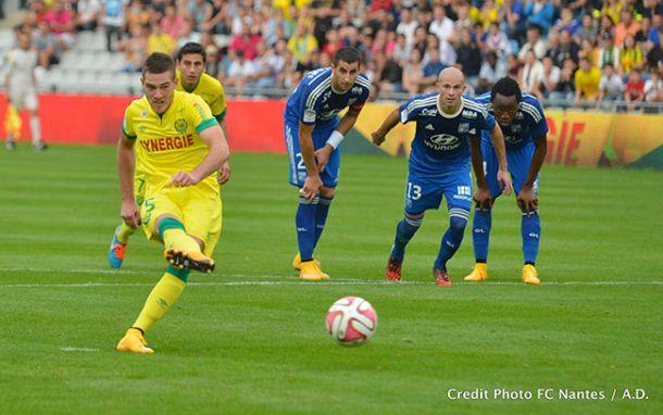 Match nul entre Nantes et Lyon
