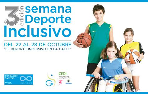 La Fundación Realmadrid, de nuevo presente en la Semana del Deporte Inclusivo
