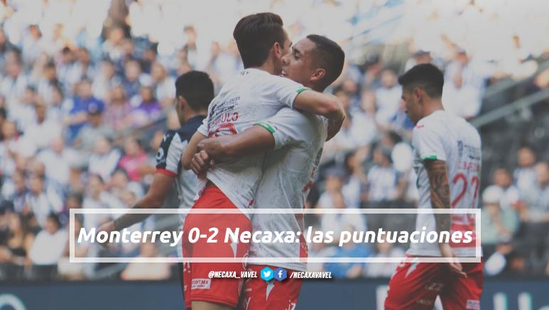 Puntuaciones de Necaxa en la Jornada 9 del Apertura 2019 de la Liga MX