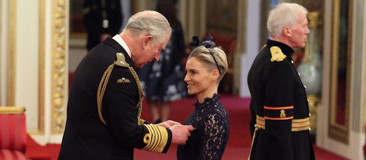 Jess Fishlock receives her MBE honours