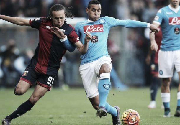 Il Genoa frena il rullino di marcia azzurro: le pagelle del Napoli