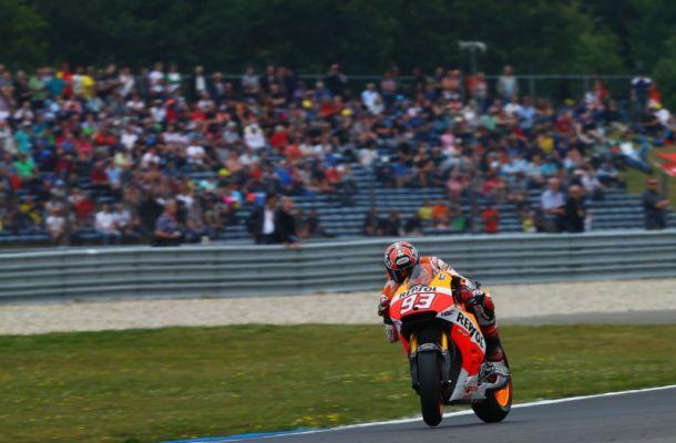MotoGP: ancora Márquez ad Assen. Dovizioso sul podio e Rossi 5°. Disastro Lorenzo