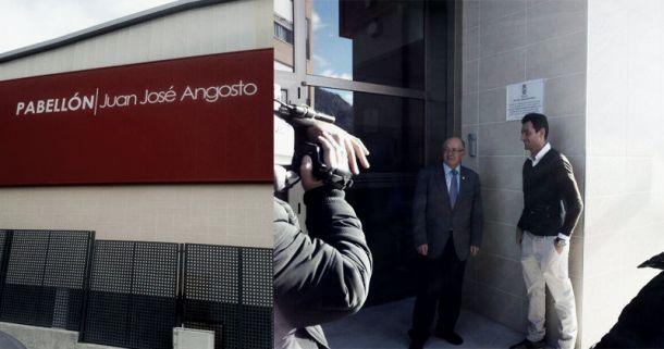 Juanjo Angosto ya tiene su pabellón en Cieza