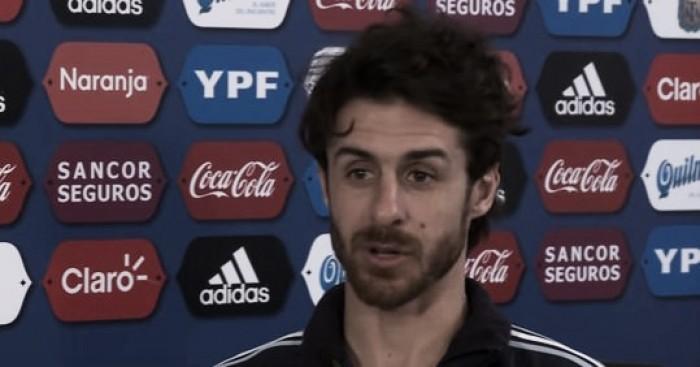 Pablo Aimar fue presentado como DT de la selección argentina Sub 15