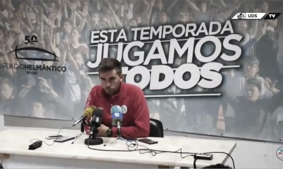 """Pablo Cortés: """"No creo que a los jugadores de Unionistas les dé miedo escénico que juegue o no Galván"""""""