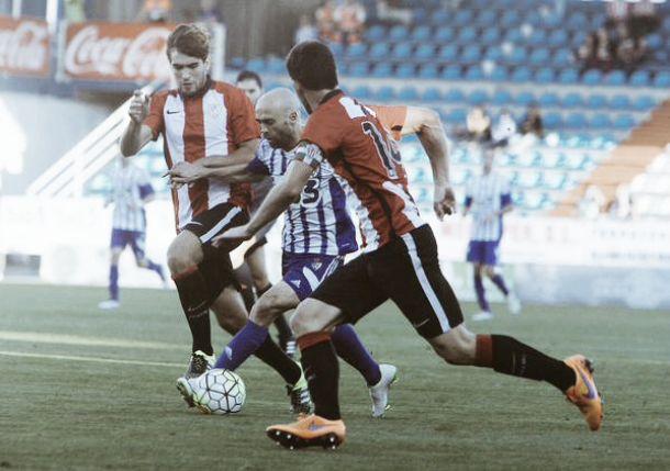 SD Ponferradina - Bilbao Athletic, puntuaciones de la Ponferradina, jornada 5