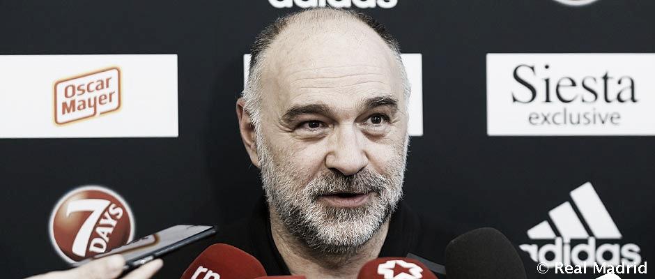 """Pablo Laso: """"El Efes está haciendo una Euroliga muy buena"""""""
