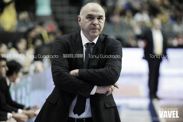 """Pablo Laso: """"Confiamos en hacer mejor baloncesto y ganar el partido"""""""