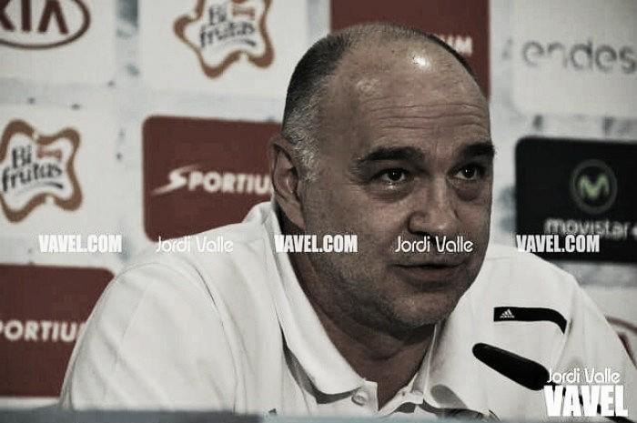 """Pablo Laso: """"El MoraBanc siempre nos lleva al límite"""""""