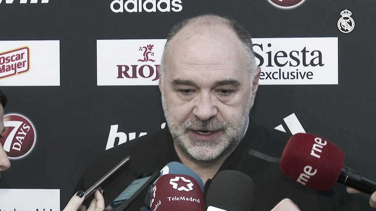 """Pablo Laso: """"La Copa es una de las citas de la temporada"""""""
