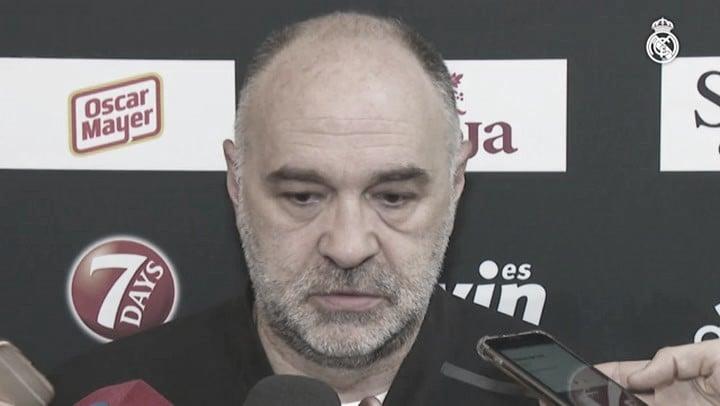"Pablo Laso: ""La cancha del Panathinaikos aprieta mucho"""