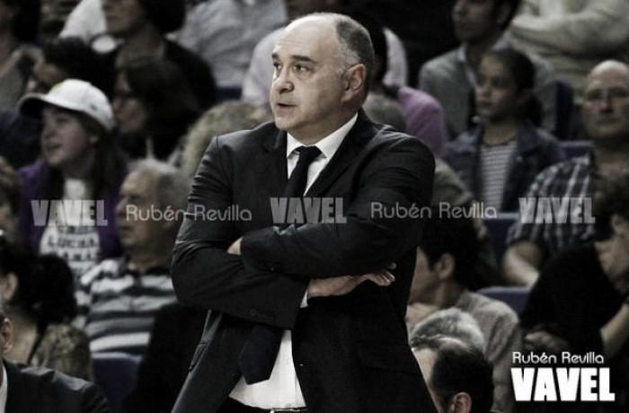 """Pablo Laso: """"Estoy muy contento con la actitud del equipo"""""""