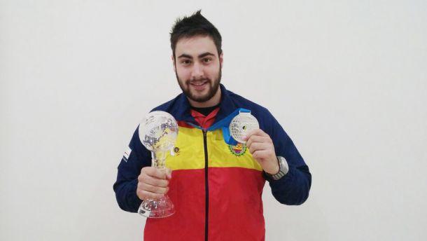 Pablo Carrera, medalla de plata en pistola de aire 10 metros en la Copa del Mundo