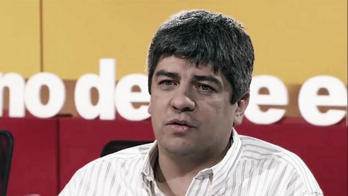 """Pablo Moyano: """"No hubo ofertas por Cuesta. Si las hay, las evaluaremos con Milito"""""""