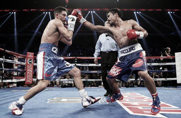 Manny Pacquiao abre las puertas de su infierno a Chris Algieri