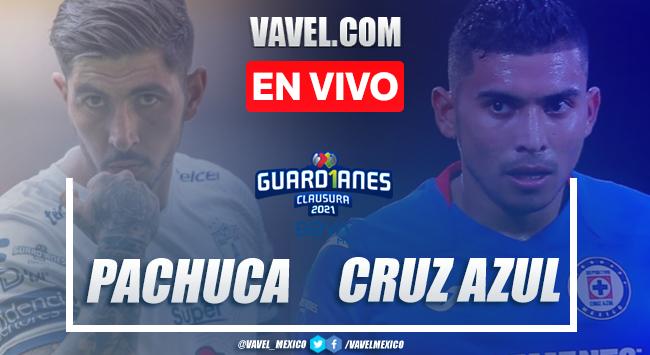 Resumen y gol: Pachuca 0-1 Cruz Azul en Liga MX Guard1anes 2021