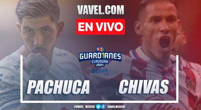 Goles y Resumen del Pachuca 1-1 Chivas en la Jornada 7 del Guard1anes 2021