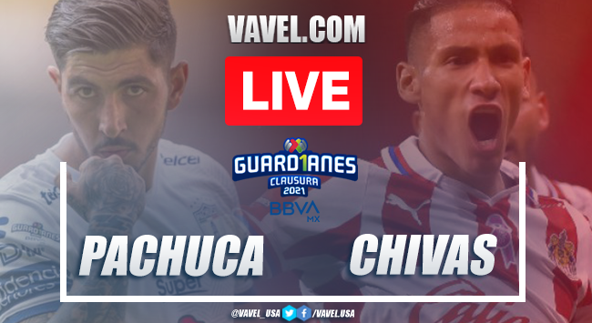 Goals and Highlights on Pachuca 1-1 Chivas Matchday 7 Guard1anes 2021