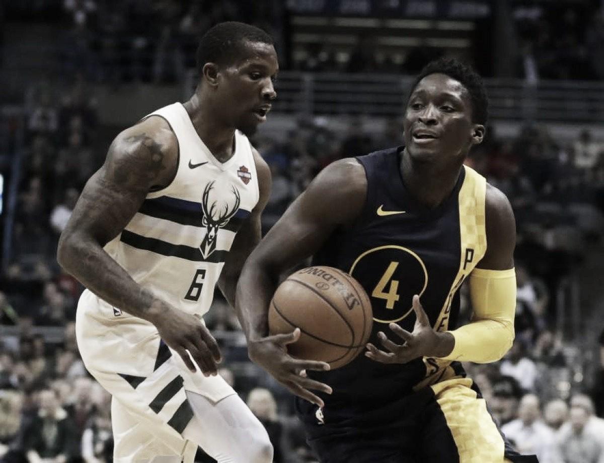 Los Pacers vencieron a los Bucks y siguen en puestos de Playoffs