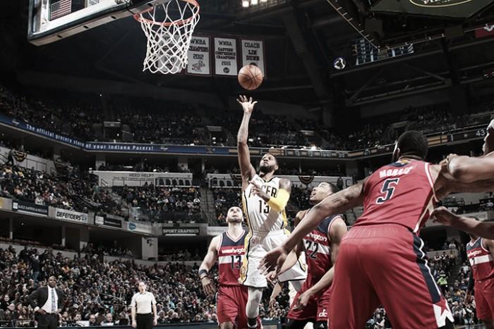 Los Wizards se aprovecharon del mal momento de Pacers