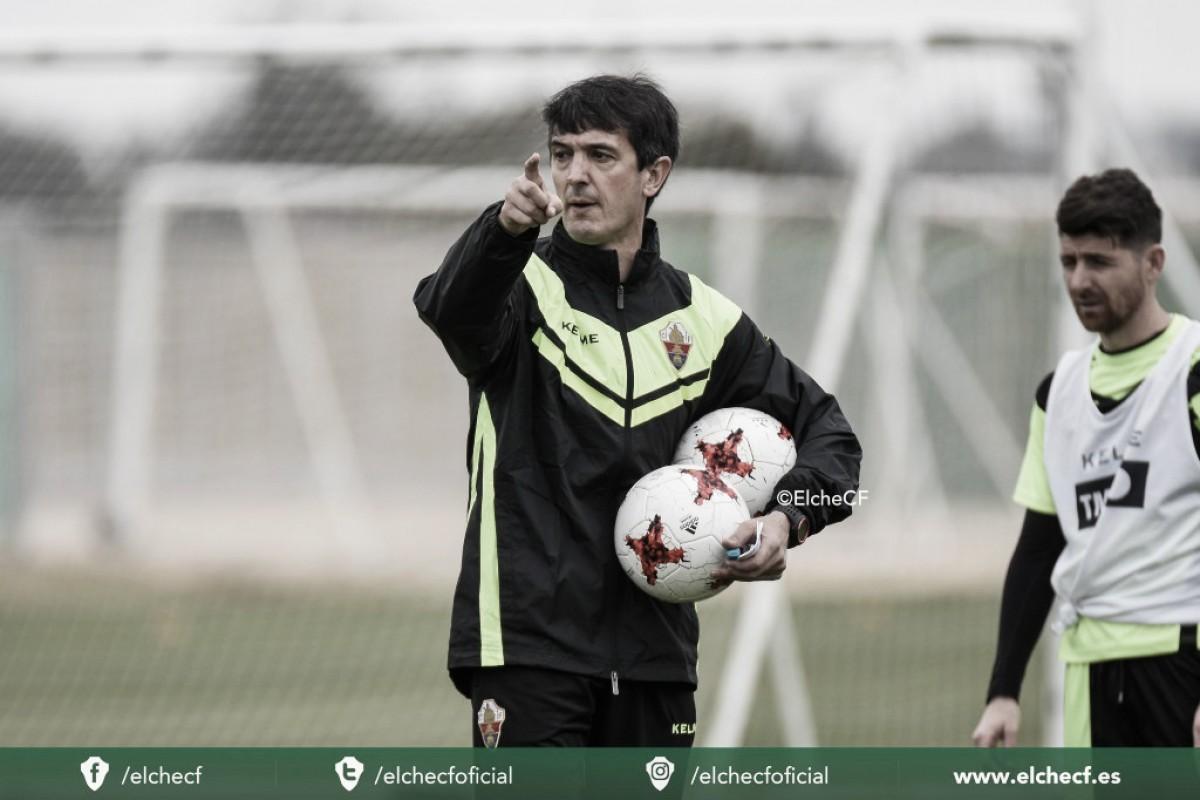 """Análisis a José Rojo, """"Pacheta"""", entrenador del Elche CF"""