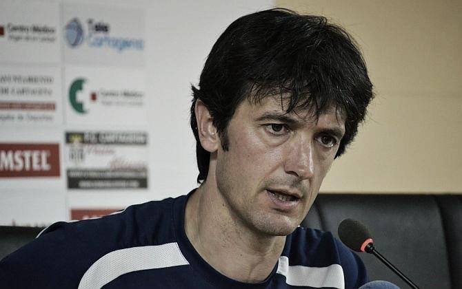 Pacheta, destituido como entrenador del Cartagena
