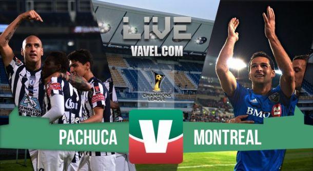 Resultado Montreal - Pachuca en Concachampions 2015 (1-1)