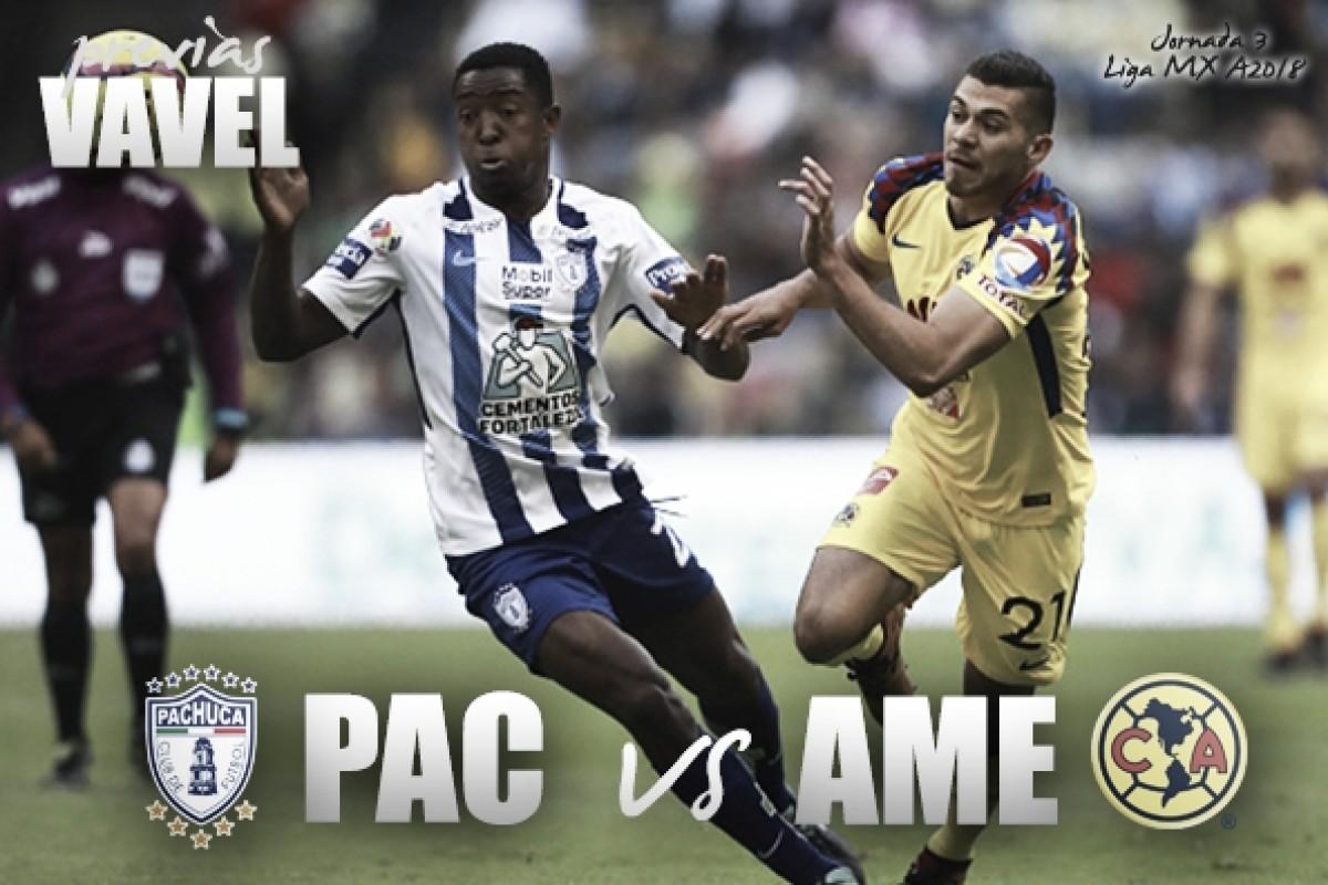 Previa Pachuca - América: por las primeras unidades