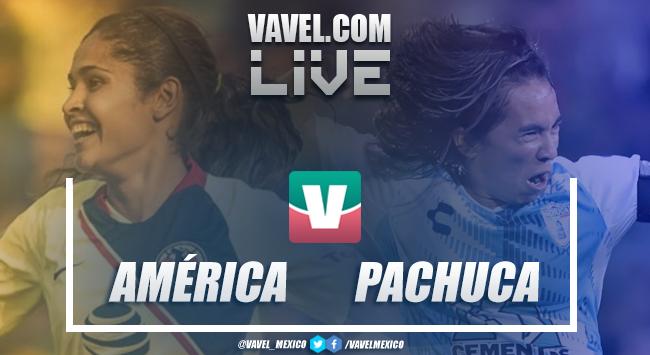 Resumen del América 0-0 Pachuca en semifinal Liga Femenil MX