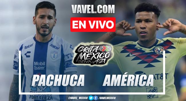 Goles y resumen del Pachuca 1-1 América en Liga MX 2021
