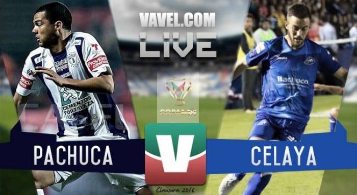 Resultado y goles del Celaya vs. Pachuca en Copa MX 2018 (0-1)