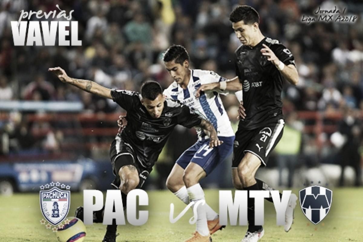 Previa Pachuca - Monterrey: duelo de debutantes en el banquillo