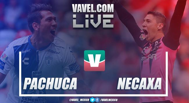 Resutado y goles del Pachuca 6-2 Necaxa Liga MX 2018