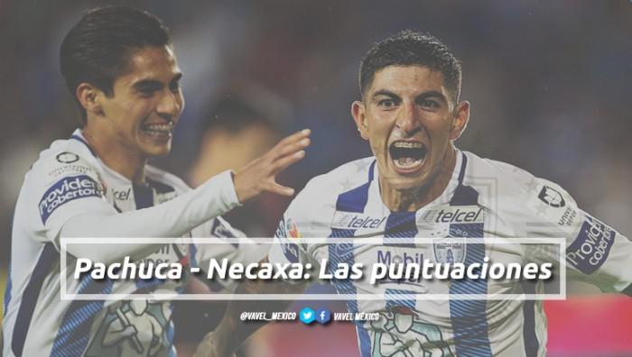 Pachuca 0-0 Necaxa: puntuaciones Pachuca (jornada 12)