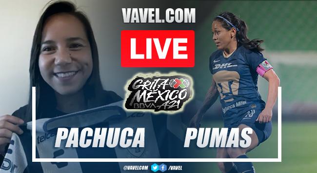 Goals and Highlights: Pachuca Femenil 1-1 Pumas Femenil in Liga MX Femenil 2021